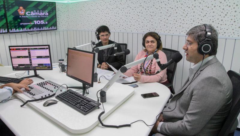 Manaus recebe sinal de rádio da Câmara Federal