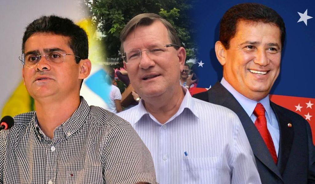 David, Zé Ricardo e Alfredo