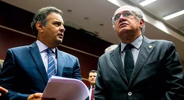 Gilmar manda Aécio responder no TRE-MG suposta propina em 2014