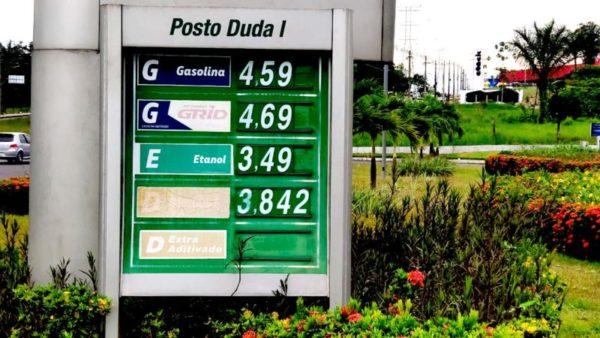 CPI Preço Gasolina Manaus