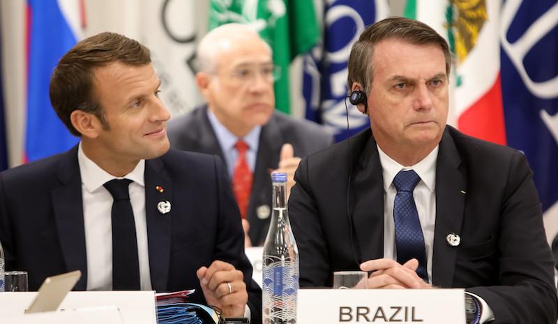Macron dribla Bolsonaro e negocia com governadores da Amazônia