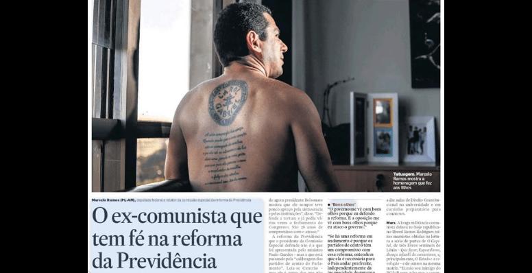 Marcelo Ramos no Estadão