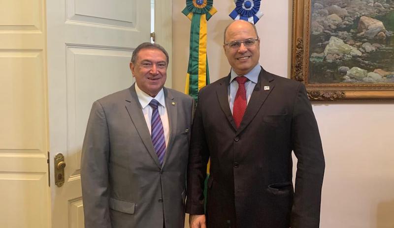 Governador do Rio pede apoio da bancada do Amazonas