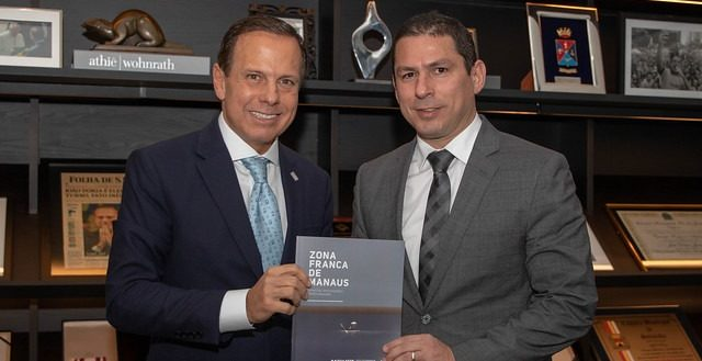 João Doria e Marcelo Ramos