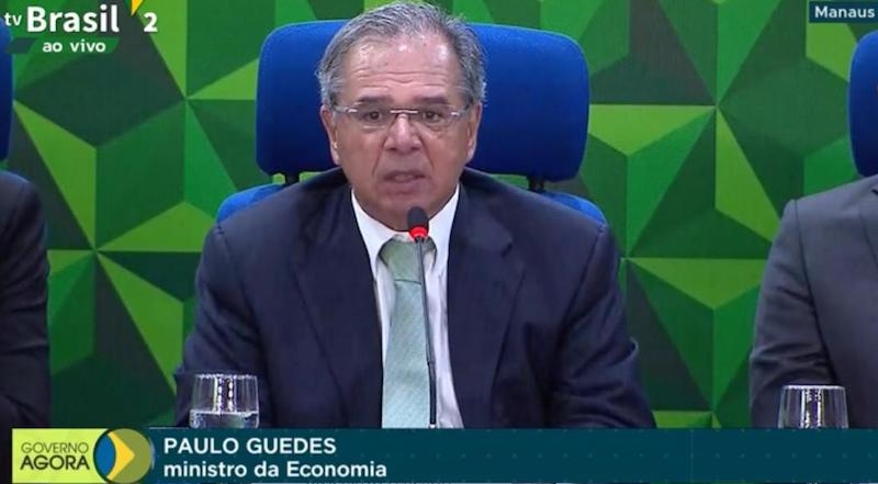 Paulo Guedes em Manaus