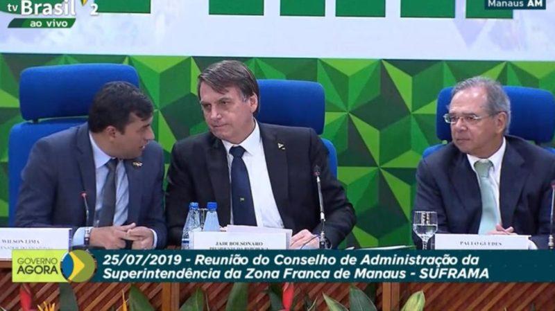 Investidores da ZFM aplaudem contra-ataque de Wilson a Guedes