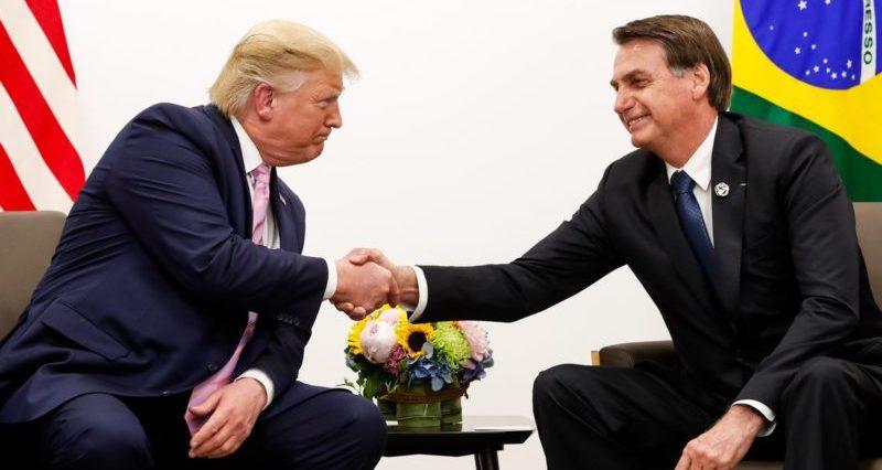 Bolsonaro e Trump reafirmam aliança e apoio a Guaidó