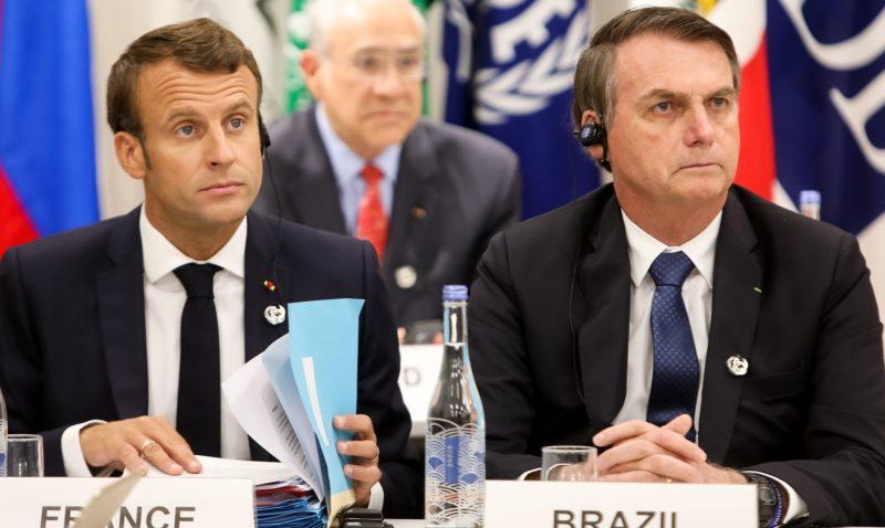 """Amazônia é desculpa de Macron contra acordo UE-Mercosul"""