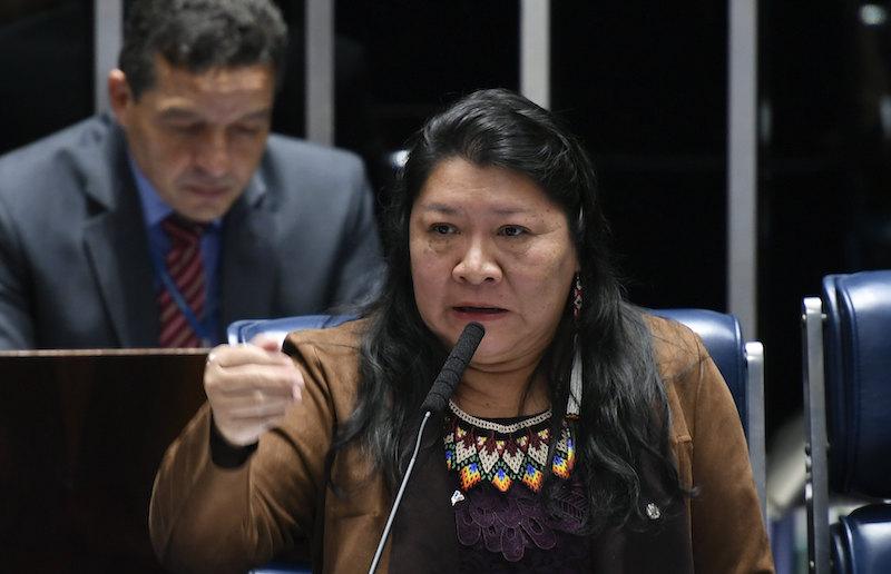 """""""Fala de Bolsonaro põe em risco vida dos povos indígenas"""", diz deputada"""