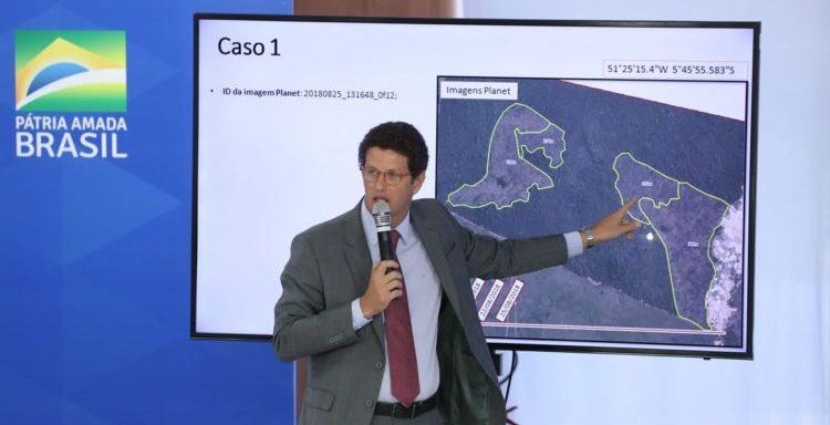 Salles afirma que número do desmatamento na Amazônia é falso
