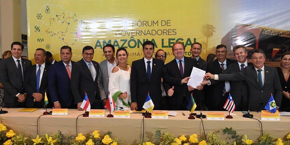 Carta de governadores da Amazônia blinda busca de recursos no exterior