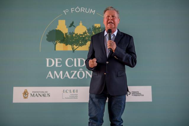 """""""A Amazônia nunca será passado, ela é o futuro"""",diz Arthur ao propor Dia Internacional da região"""