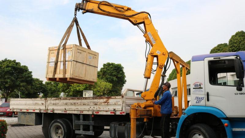 FCecon recebe aparelho do governo travado na Alfândega há dois meses