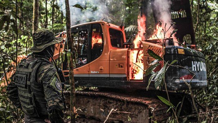 Militares se recusam a acompanhar operações do Ibama na Amazônia