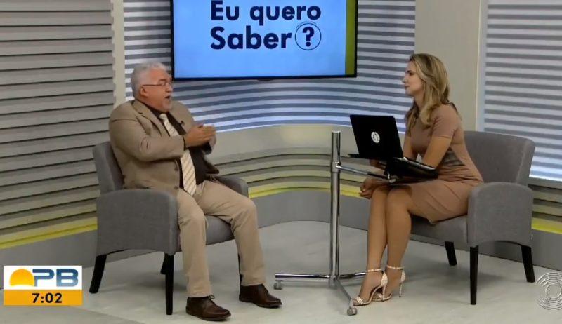 Em solidariedade a colega, comentarista da Globo se demite ao vivo