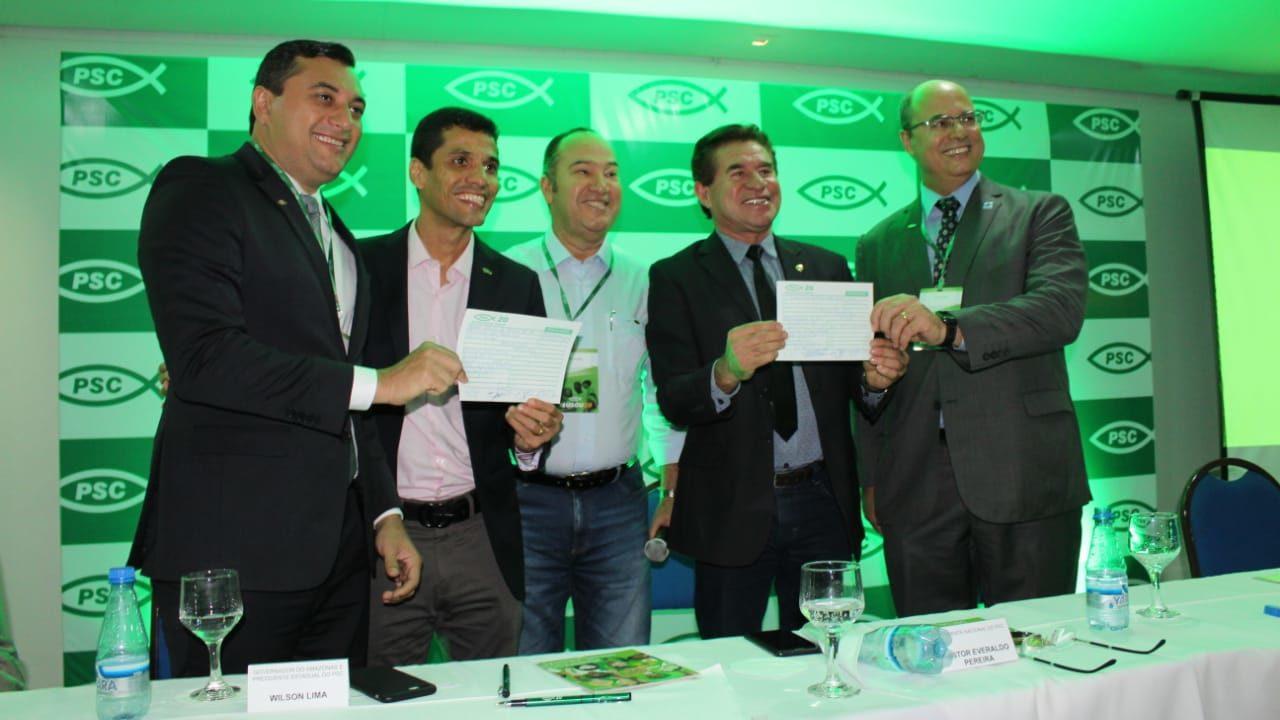 Mirando eleição,  PSC de Wilson Lima abre campanha para novos filiados