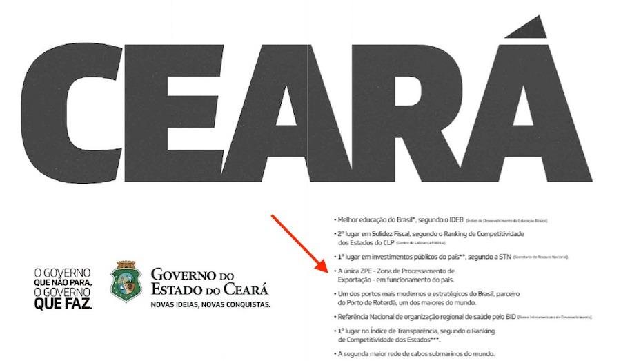 ZPE! A preocupação do Amazonas é orgulho no Ceará