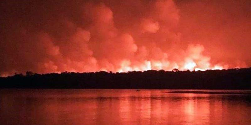 Polícia investiga se incêndio em Alter do Chão foi criminoso