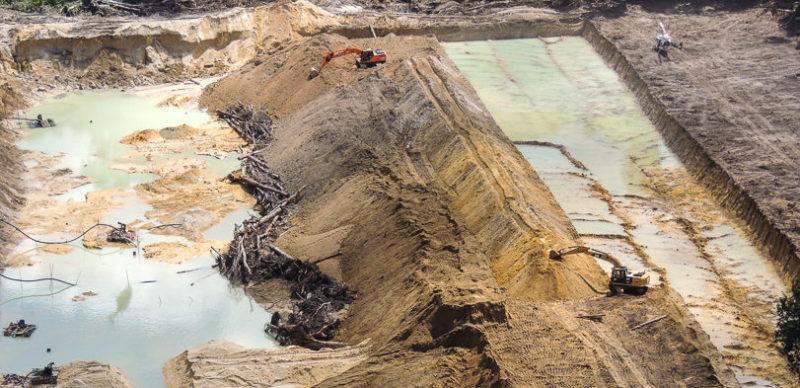 PF mira esquema de extração de ouro de garimpos ilegais em Roraima