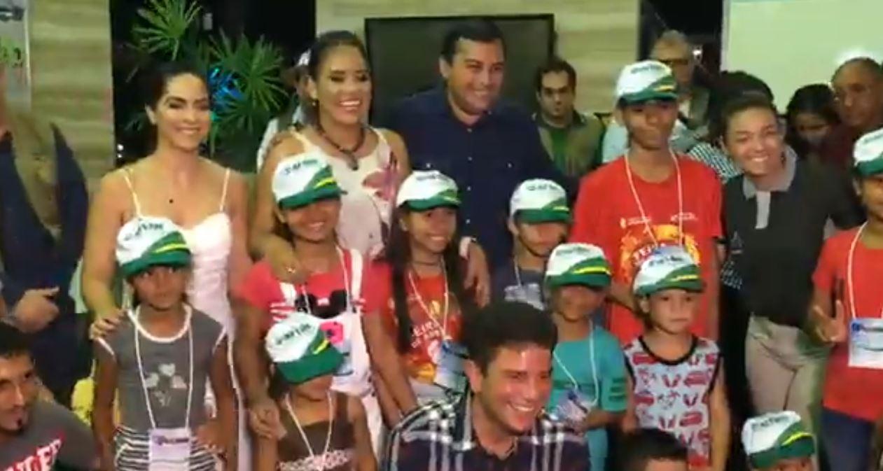 Governador Wilson Lima recebe o governador do Acre para assinatura de protocolo de intenções no âmbito da Amacro
