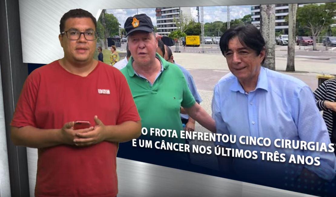 EM RESUMO – Mário Frota enfrentou cinco cirurgias e um câncer nos últimos três anos