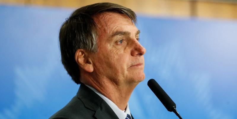 """Bolsonaro diz que não deixará o PSL e que não quer """"entrar nessa briga"""""""