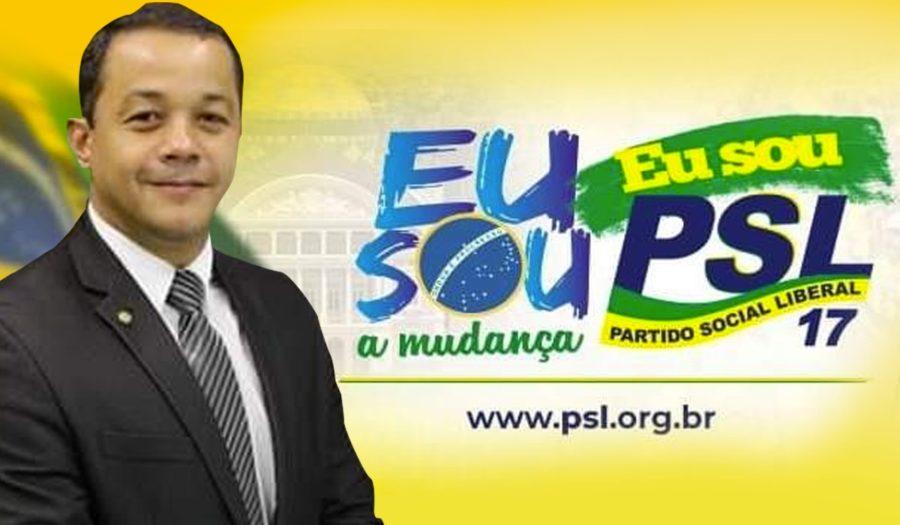 Deputado federal Pablo Oliva quer esquecer PSL