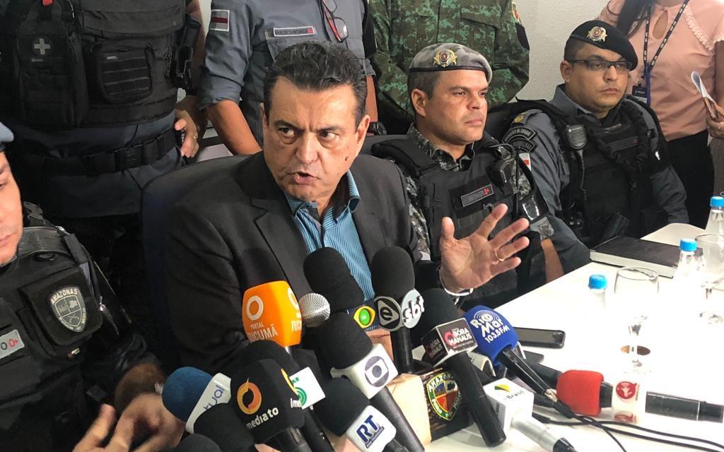 """""""Não estamos preocupados com represália"""", diz SSP-AM após morte de 17"""