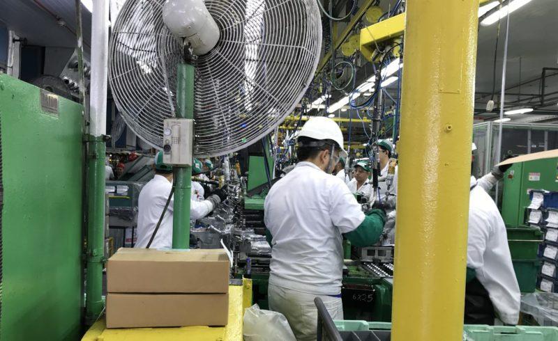 Agosto reage e produção industrial cresce 0,8% após série de quedas