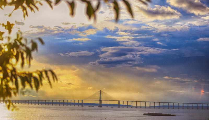 Nos 350 anos de Manaus, ponte Rio Negro completa oito anos de criação