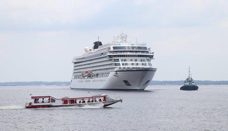 Temporada de cruzeiros no fim de ano deve levar 4,5 mil turistas a Manaus