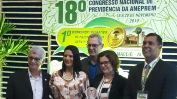 Gestão previdenciária de Manaus dá homenagem nacional a Arthur Neto