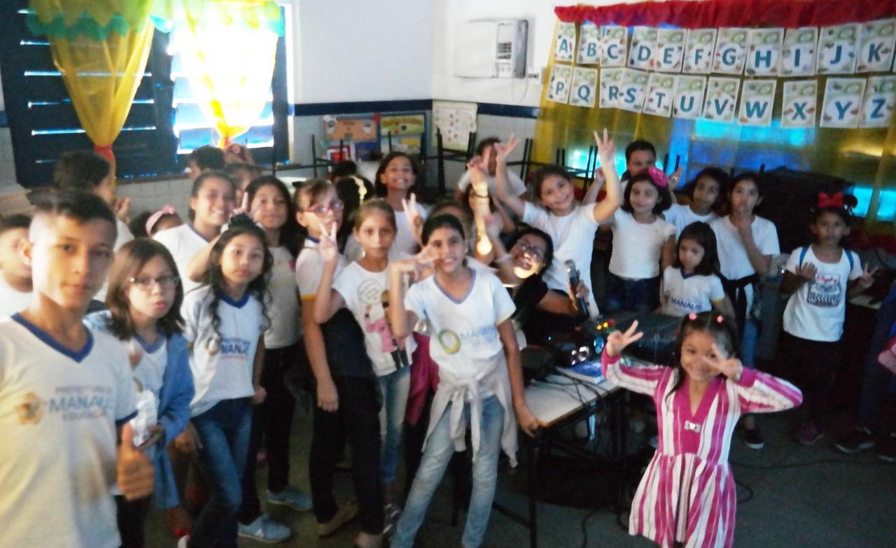 Escola da zona Norte de Manaus dá economia de R$ 10 mil à prefeitura