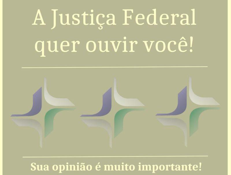 Justiça Federal do Amazonas lança pesquisa de satisfação