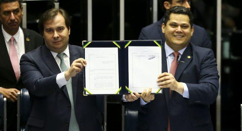 Para PGR, reeleição de Maia e Alcolumbre é decisão do Congresso