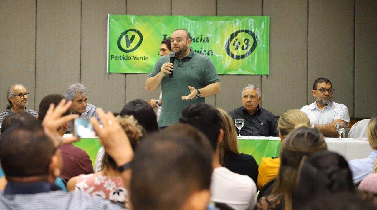 Com Fausto Júnior, PV quer disputar a Prefeitura de Manaus em 2020