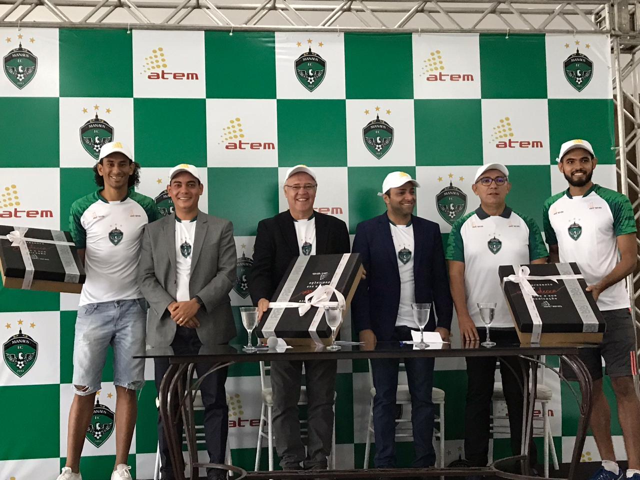 Grupo Atem renova patrocínio com o Manaus F.C para temporada 2020