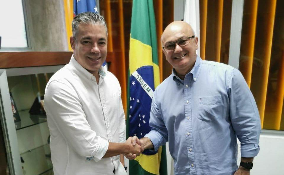 Josué e Menezes almoçam juntos e tratam de eleição 2020