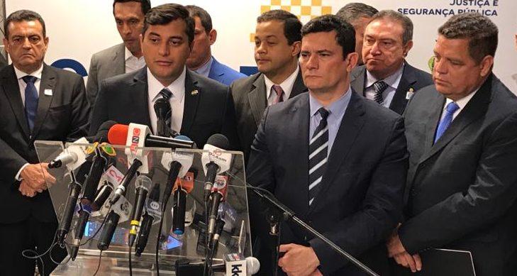 Moro inaugura, em Manaus, centro de monitoramento ao crime organizado