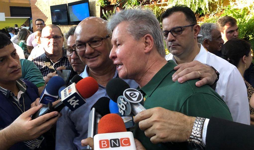 Arthur e Menezes exibem alinhamento em Manaus