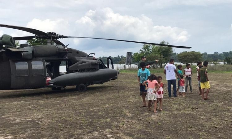 Ministério da Saúde começa vacinação em locais de difícil acesso no Amazonas