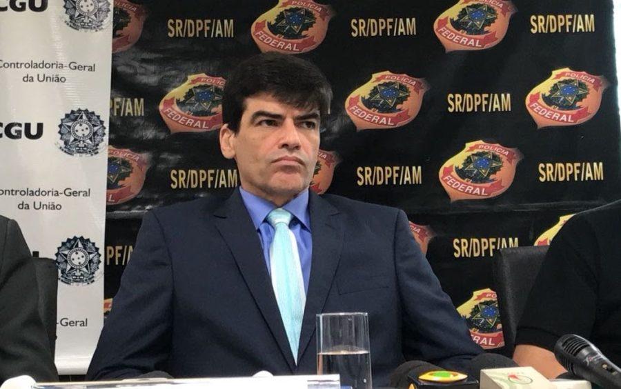 Chefe da PF-AM cotado para assumir Secretaria da Amazônia de Bolsonaro