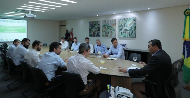 Wilson recebe BNDES e reivindica investimento do Fundo Amazônia