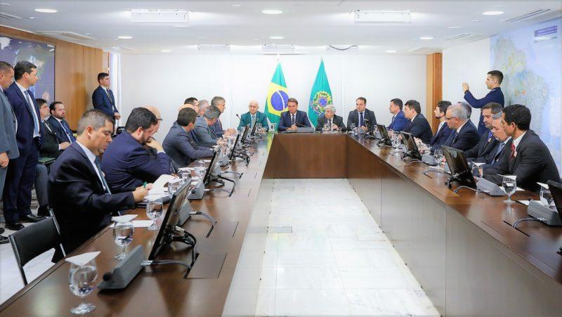Bolsonaro diz a Bonates e outros secretários que pode recriar ministério