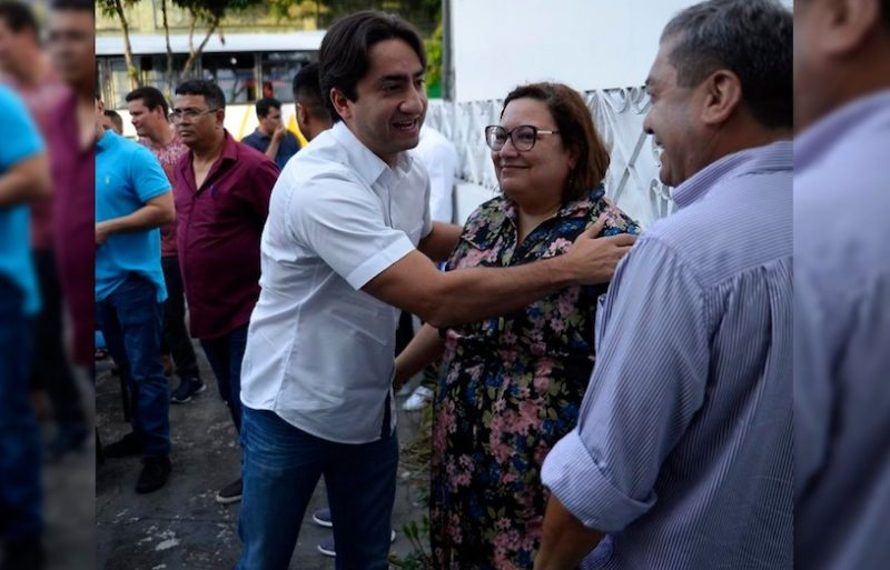 Herdeira de Amazonino participa de encontro de candidatos do PDT
