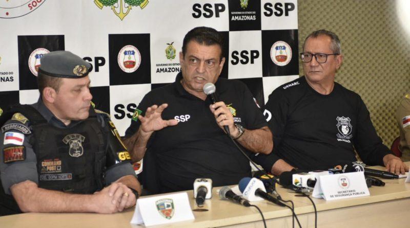 SSP anuncia força-tarefa para crimes de homicídio em Manaus