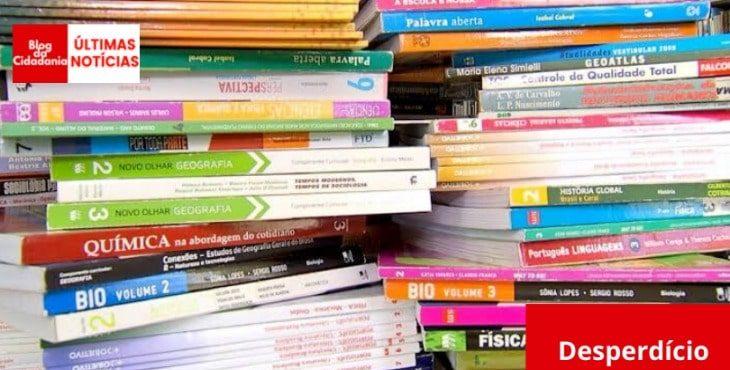 MEC descartará 2,9 milhões de livros didáticos que não chegaram às escolas