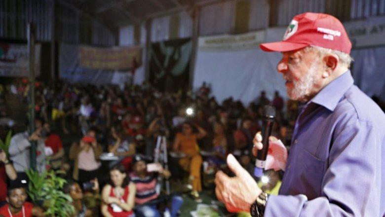 """Lula convoca militância: """"Vamos ter que brigar pra cacete este ano"""""""