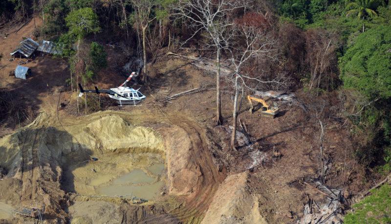 Mineração em terra indígena coloca em risco rios da Amazônia, alerta Inpa