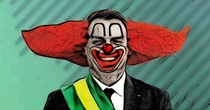 Filhos usam imagem de Bolsonaro como palhaço Bozo para ironizar Lula e PT